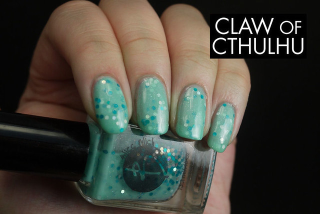 Bliss Polish Crystal Blue Persuasion Swatch