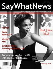 Eartha Kitt Black History Month Feb. 2014