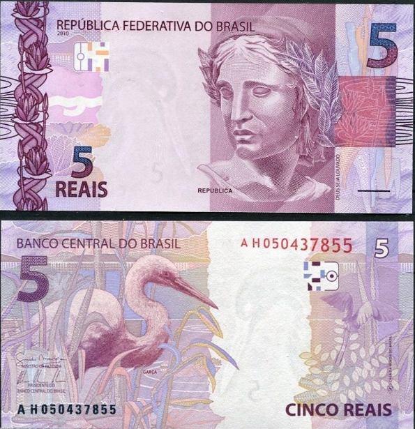 5 Reais Brazília 2010 (2013)