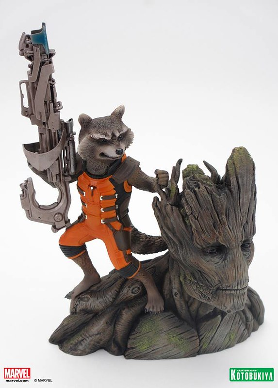 Kotobukiya-Guardians-of-the-Galaxy-Rocket-Raccoon-ARTFX-Statue-007