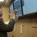 Governor McAuliffe Gets Weather Updates at the Emergency Operations Center - March 3, 2014