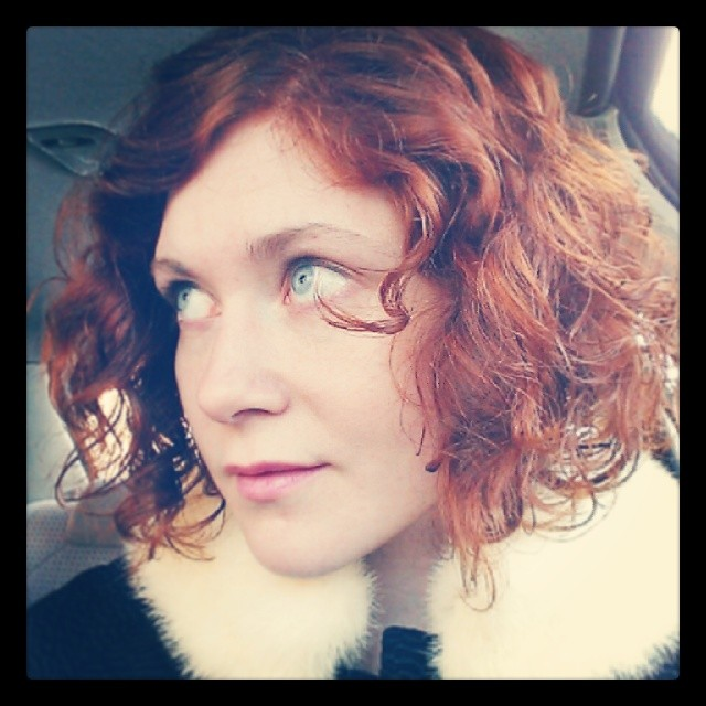 "Got a ""Hey #redhead"" holler leaving the salon so... Success?"