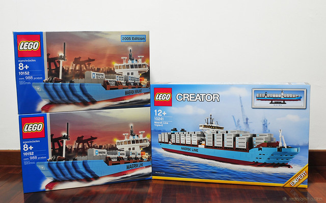 Maersk container ships