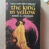 The King in Yellow, for you True Detective fans.