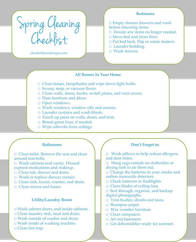 Spring Cleaning Printable 1