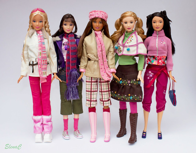 Barbie Loves Benetton - Terza serie (Autunno/Inverno 2006)