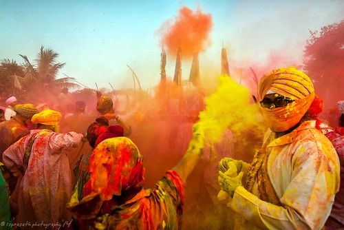 Holi - The riot of colors