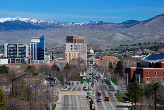 Boise Early Spring Vista