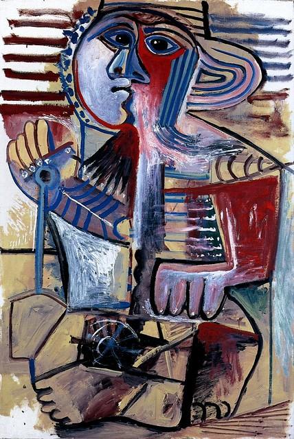 Pablo Picasso - 1971 Enfant [Personnage Е la pelle ...