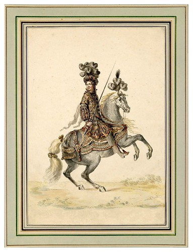 011-Carrousel des galans Maures de Grenade…1685- Jean Berain- INHA