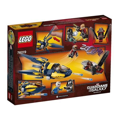 LEGO Marvel 76019 Back