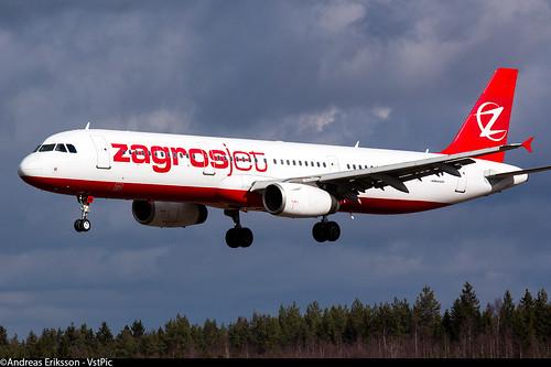 YI-AQU Airbus A321-231 Zagrosjet