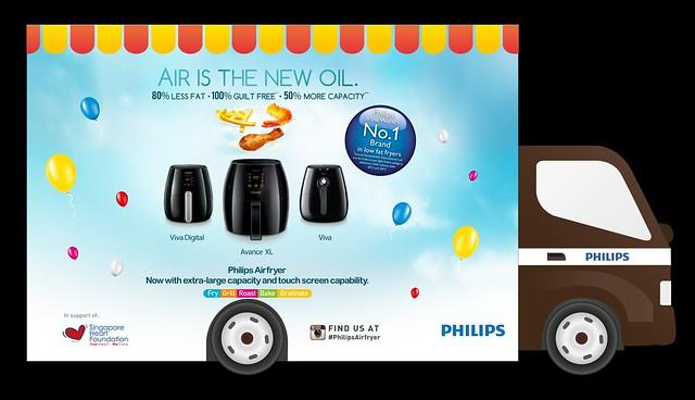 Philips Airfryer Truck