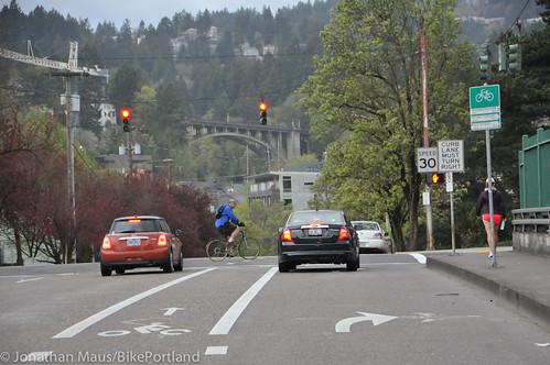 Bike Advisory Committee rides downtown-5