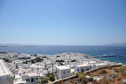 Aegean Sea from Mykonos
