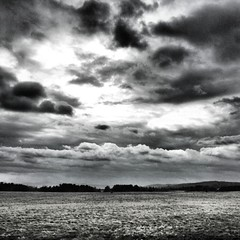 April showers. #cloudporn #bw #vermont