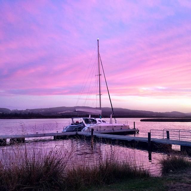 Franklin. Huon River. Tasmania.
