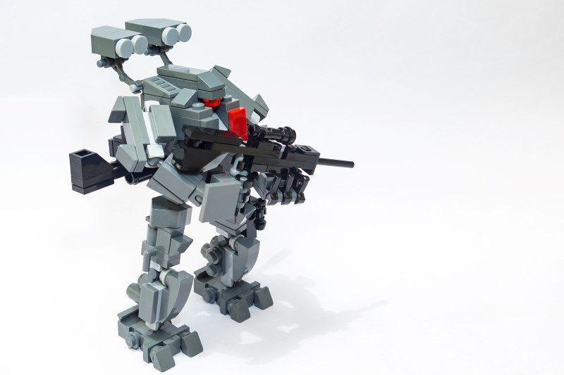 Trauma (custom built Lego model)