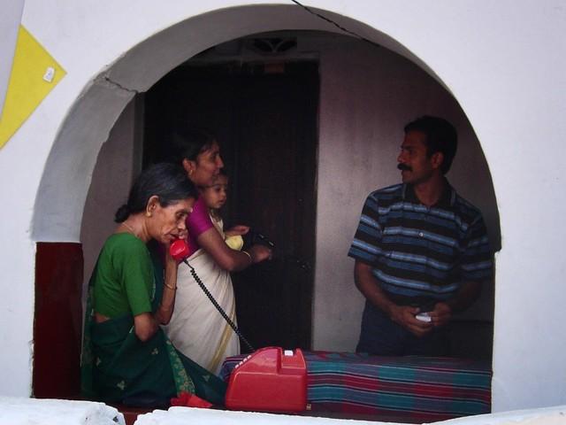 Thrissur near the temple, Nikon E5200