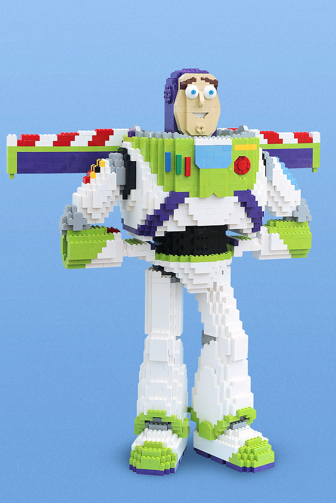 To Infinity And Beyond! (custom built Lego model)