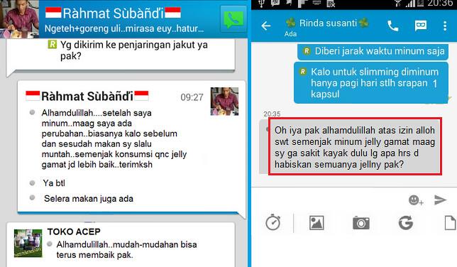 Agen QnC Jelly Gamat Sumatera Barat