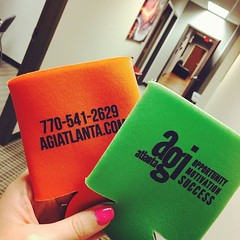Hey @Kennesawstateowls! We're ready to talk to you at the career fair today. Stop by for your complementary koozie.