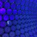 Lego Dimensions game piece wall with black light by Octopunk