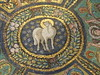 Byzantine Mosaics in the Basilica of San Vitale in Ravenna