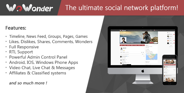 WoWonder v1.4.4.4 - The Ultimate PHP Social Network Platform