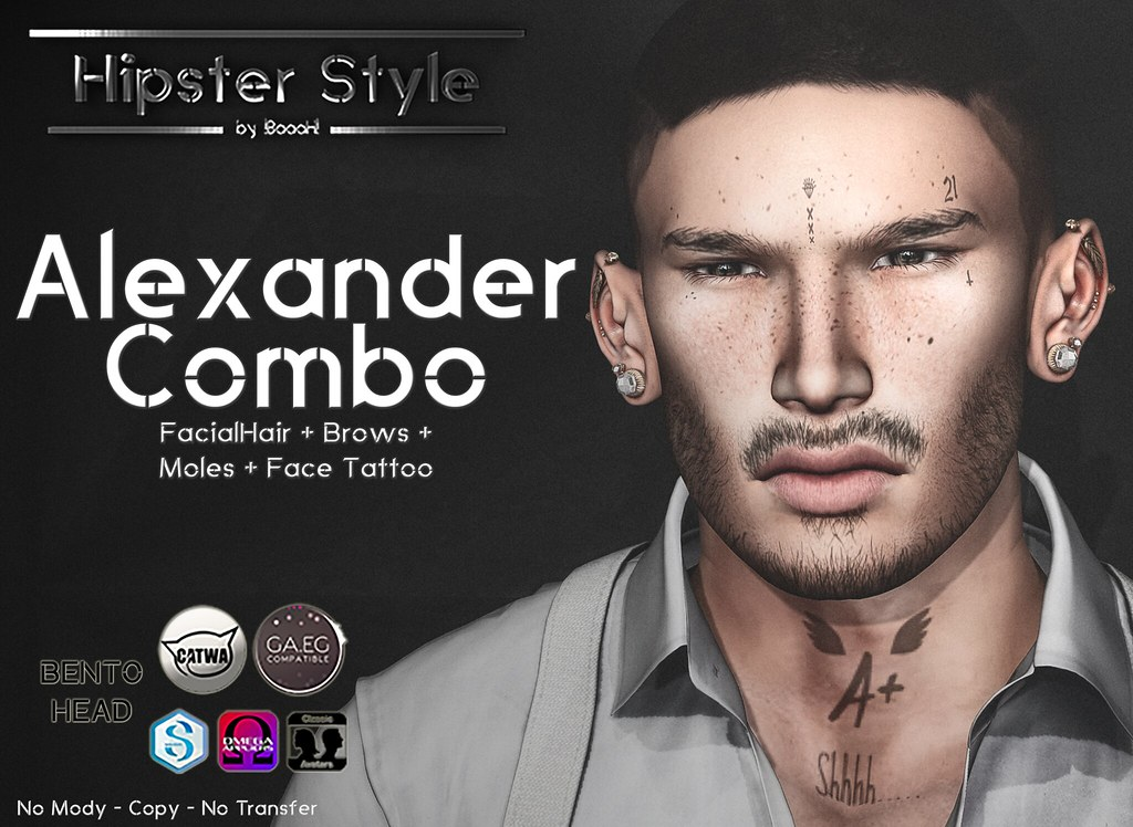 [Hipster Style] Alexander COMBO - SecondLifeHub.com