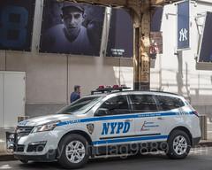 NYPD CRC K-9 Police Vehicle, 2017 Yankees Home Opener at Yankee Stadium, The Bronx, New York City