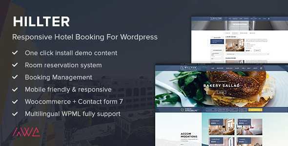 Hillter WordPress Theme free download