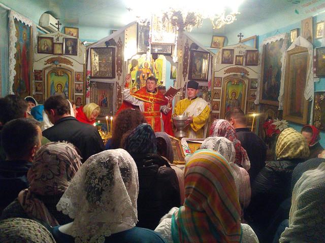 Освячення пасок в Свято-Кирило-Мефодіївському патріаршому подвір'ї 16 квітня 2017 року (Додатковий альбом)