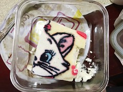 Directly Above Sweet Food Indoors  Close-up No People Day Kitty Cake