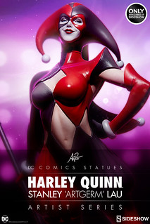 Sideshow Collectibles 【小丑女】 Harley Quinn 1/5 比例全身雕像作品 性感登場!