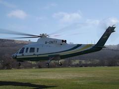 M-ONTY Sikorsky S-76B Helicopter Trustair Ltd