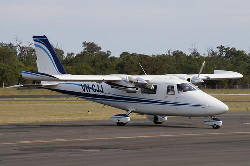 VH-CJJ  Vulcanair P.68C