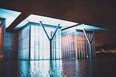 The @themodernfw is quite dazzling at night.  . . . . . #vscocam #lightroom #nikon