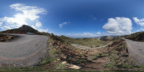 Switchback View, Western Crete