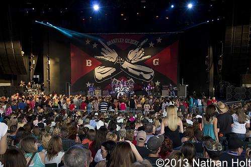 Brantley Gilbert - 05-19-13 - Two Lanes Of Freedom Tour, DTE Energy Music Theatre, Clarkston, MI