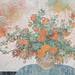 吳士偉‧華繁春旺‧水墨紙本設色‧ 87.5x97 cm‧2012