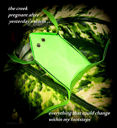the creek - haiga