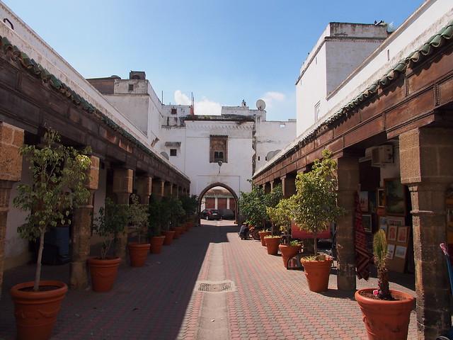 老城區的巷弄