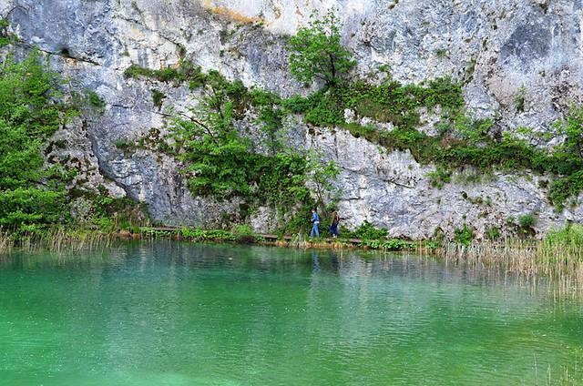 Kaluderovac Lake, Plitvice Lakes National Park, Croatia