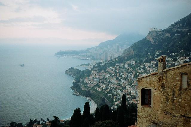 roquebrune view