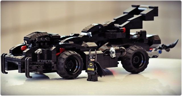 batmobil. neues modell. originalteile #2