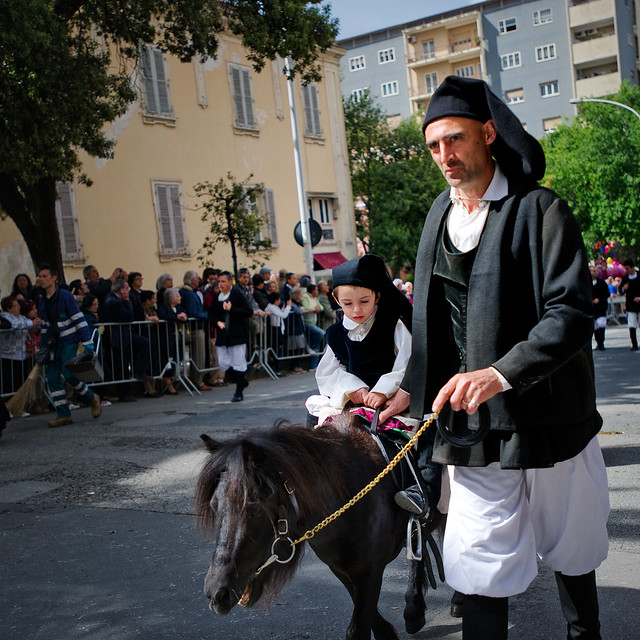 On Cavalcata Sarda Parade