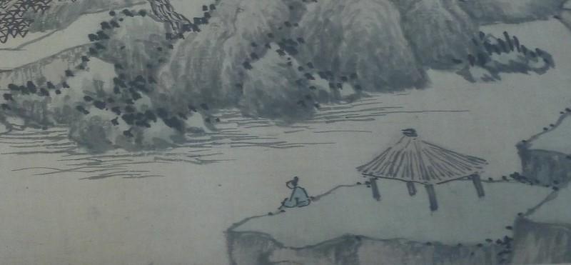 06 沈周,山水图局部2