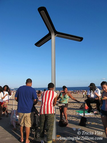 AT&T Solar Charging Stations, Coney Island Boardwalk