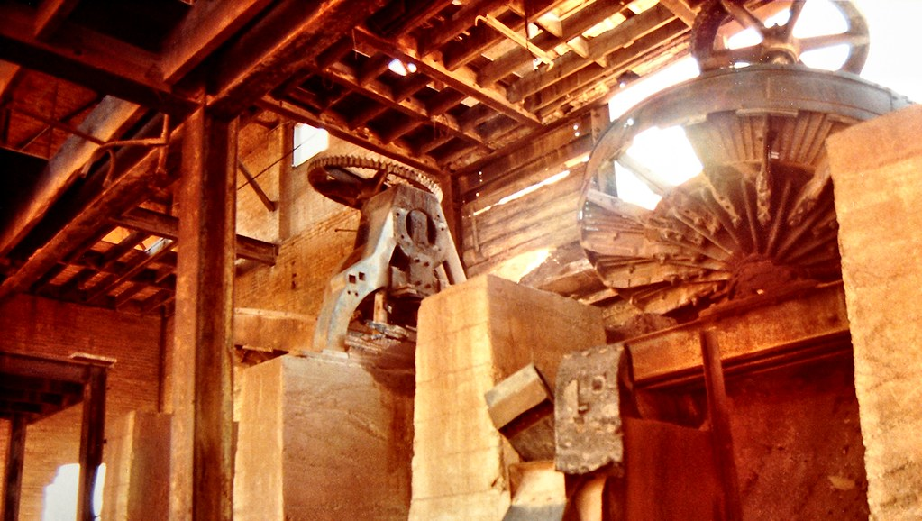 Inside the Old Brick Works ~ Terra Cotta, Caledon ~ Summer 1985